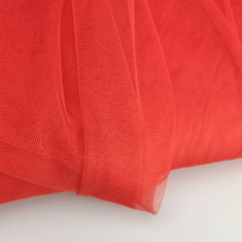 Soft Tull | Red 150 cm | Poly Tulle Blush